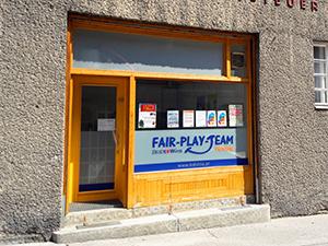 AußenAnsicht des FairPlay Büros in der Hickelgasse 12