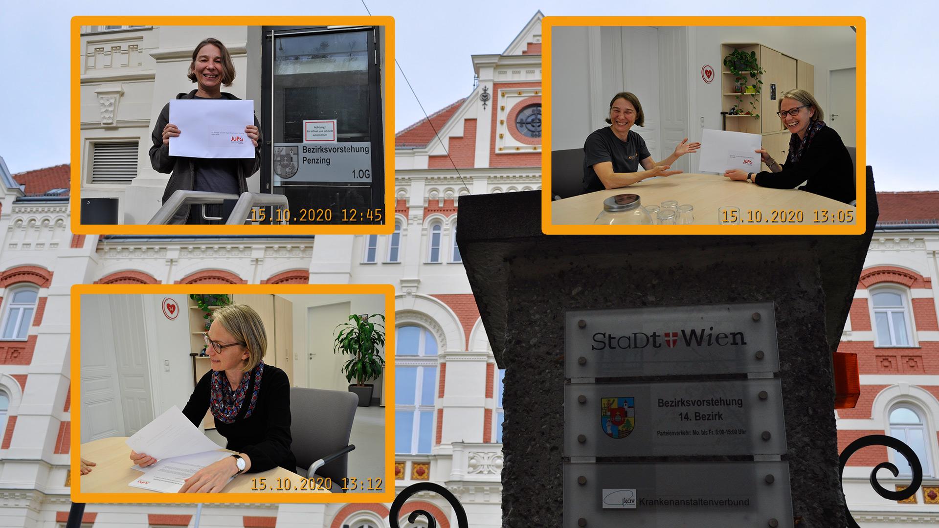 Die wichtigsten Anliegen wurden in 19 Anträgen formuliert und der Bezirksvorsteherin übergeben!15.10.2020
